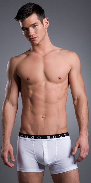 HUGO BOSS Performance Button Fly Boxer Brief