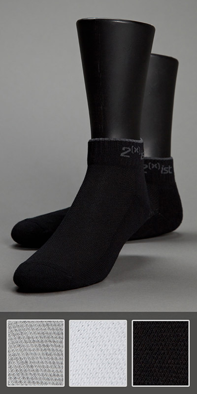 2XIST Quarter Top Sock 3-Pack