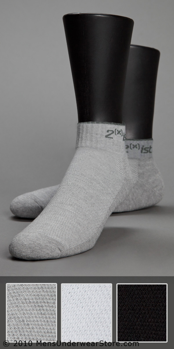 2XIST Quarter Top Sock 3-Pack