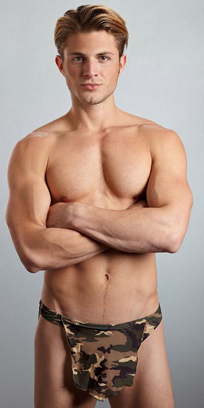 Male Power Tarzan Camo