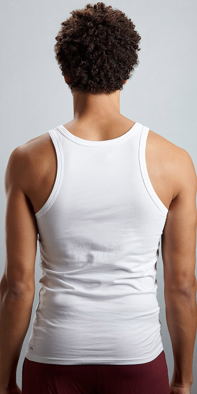 Calvin Klein Cotton Stretch Tank Top 2-Pack