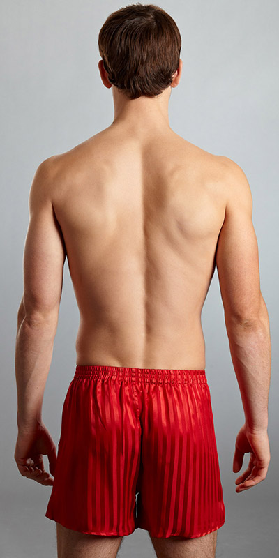 ManSilk Silk Striped Jacquard Boxers