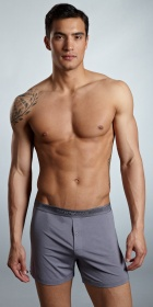 Emporio Armani Modal Button Fly Knit Boxer