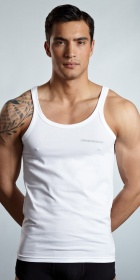 Emporio Armani Stretch Cotton Tank