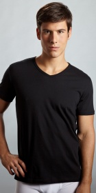Emporio Armani Cotton V-Neck T-Shirt 3-Pack