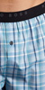 HUGO BOSS Woven Button Fly Boxer