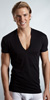 2XIST Essential Slim Deep V-Neck T-Shirt
