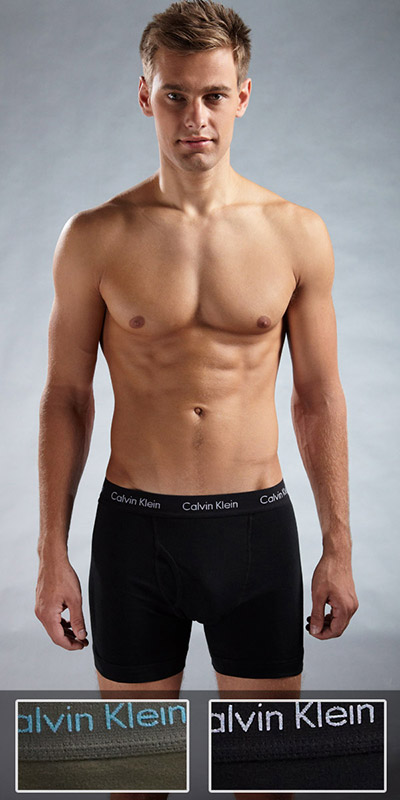Calvin Klein Cotton Stretch Boxer Brief 2-Pack