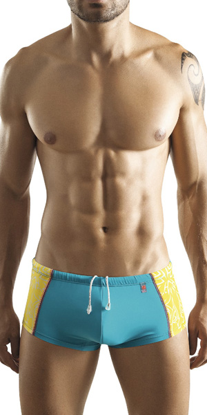 Clever Retro Swim Brief
