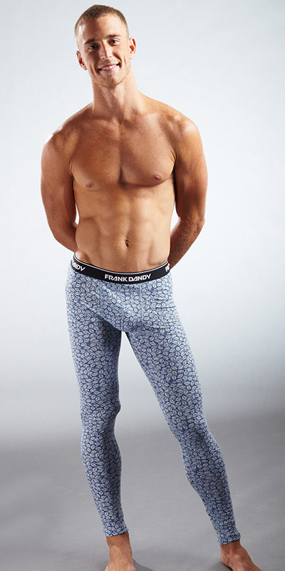 "Frank Dandy ""Little Blue Pill"" Long Johns"