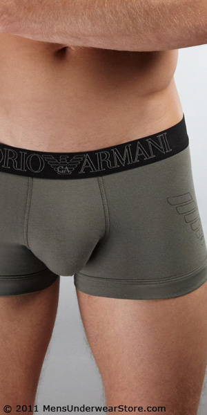 Emporio Armani Big Eagle Stretch Cotton Trunk