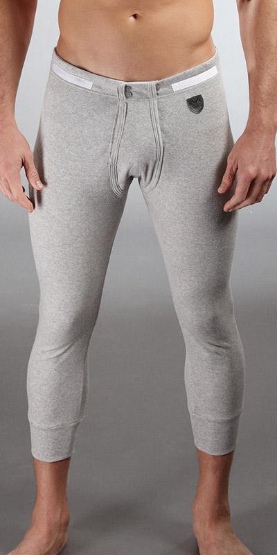 Emporio Armani Ribbed Cotton Long Underwear
