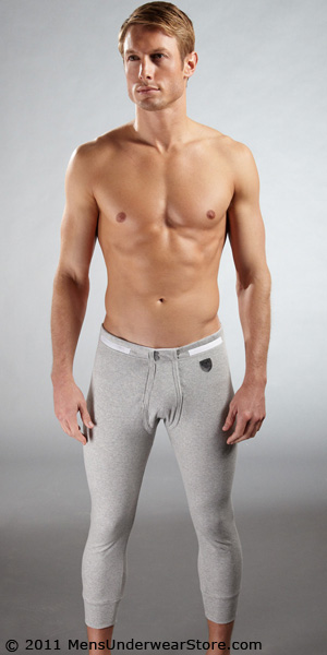 Emporio Armani Ribbed Cotton Long Underwear
