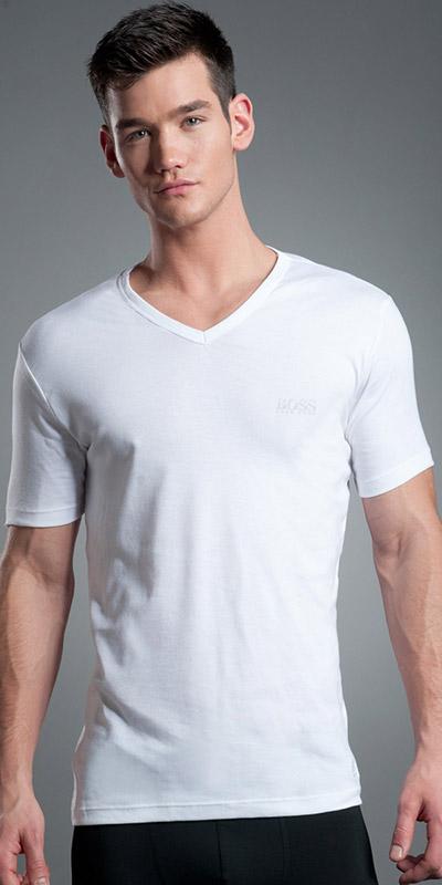 HUGO BOSS Basics V-Neck T-Shirt