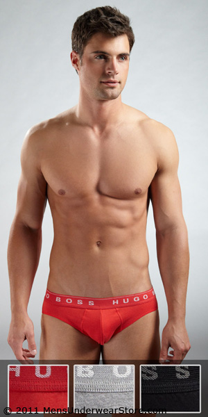 HUGO BOSS Mini Brief Multi-Color 3-Pack