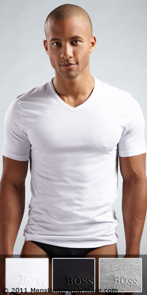 HUGO BOSS V-Neck T-Shirt Multi-Color 3-Pack