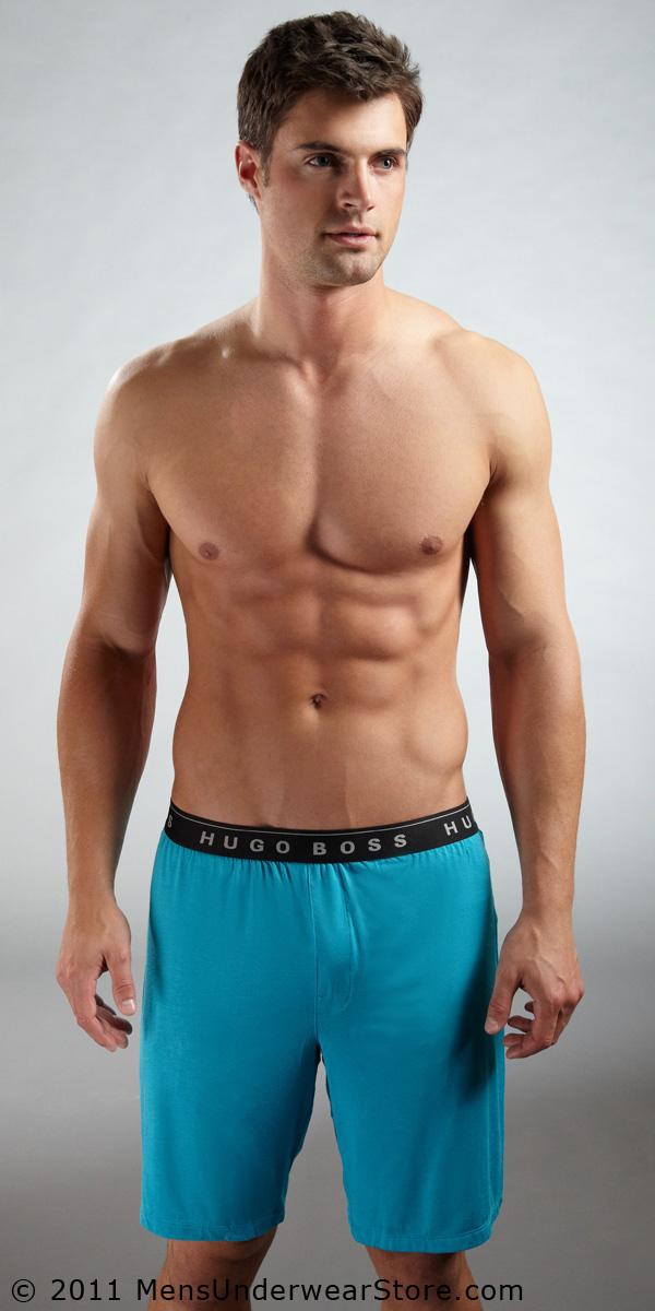 HUGO BOSS Micro Modal Lounge Shorts
