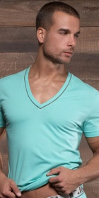 C-IN2 Pop Deep V-Neck Tee