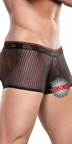 Male Power Herringbone Mini Pouch Short