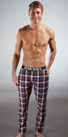 Diesel Derik Plaid Pajama Pants