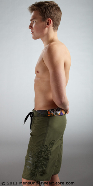Diesel Deck Long Boardshorts