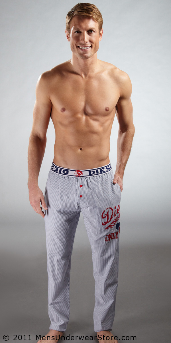 Diesel Derik Striped Pajama Pants