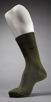 Emporio Armani Filoscozia Mercerized Cotton Sock