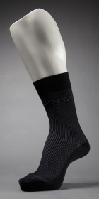 Emporio Armani Pinstripe Short Sock