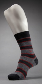 Emporio Armani Melange Stripes Sock