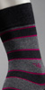 Emporio Armani Melange Stripes Sock
