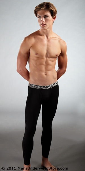 Emporio Armani Melange Modal Long Underwear