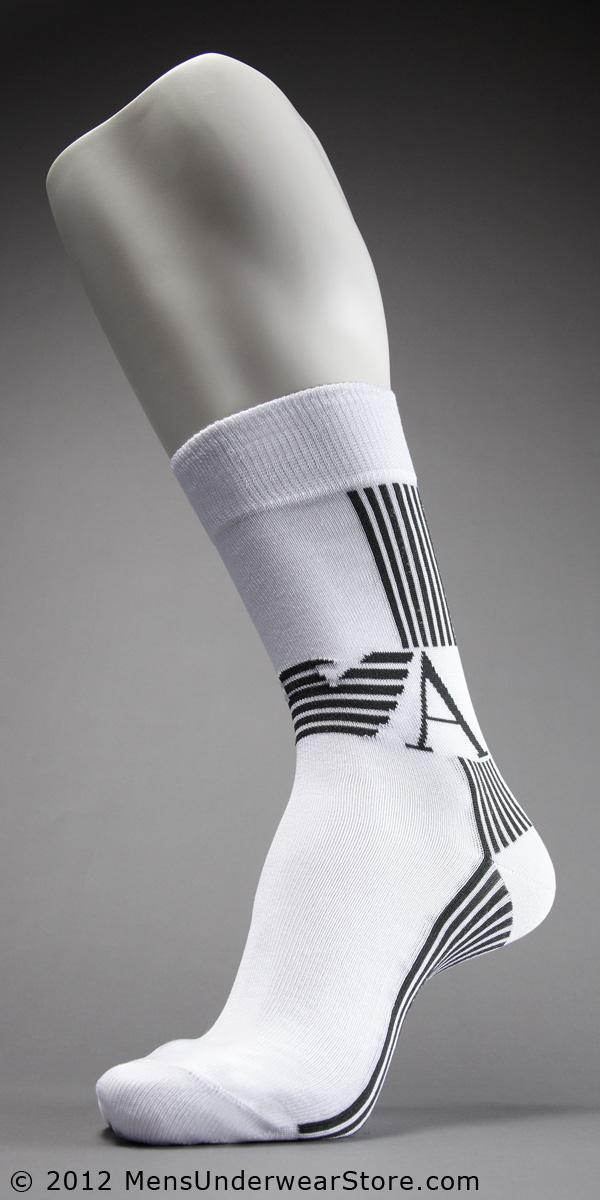 Emporio Armani Seven Stripes Sock