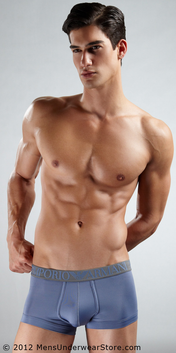 Emporio Armani Coloured Microfiber Trunk