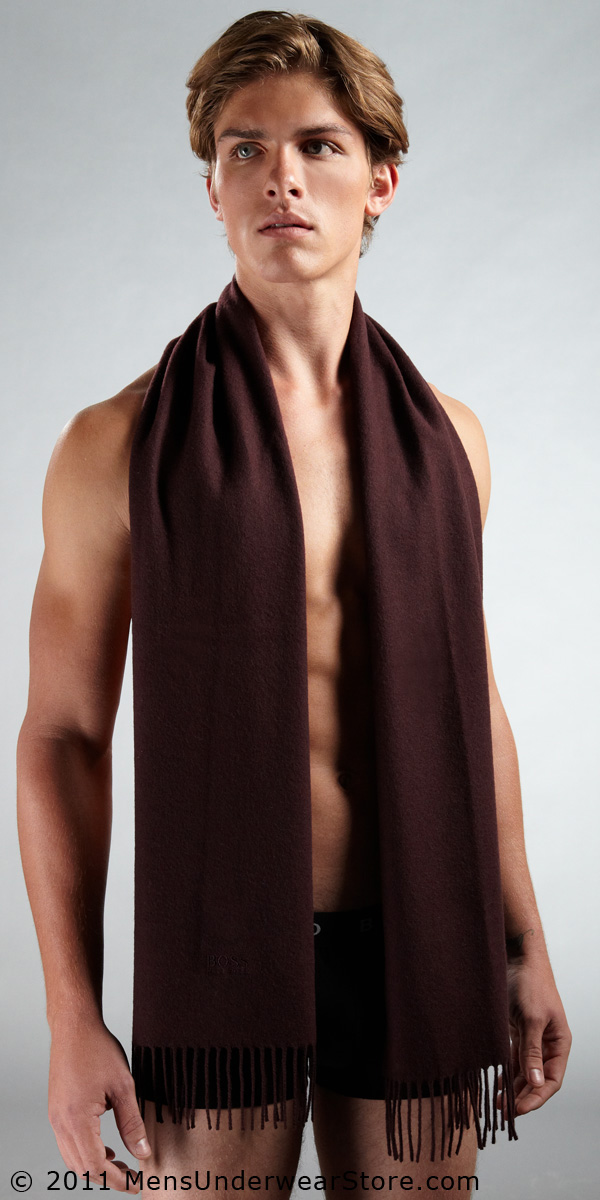 HUGO BOSS Wool Cashmere Scarf