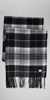 HUGO BOSS Modern Plaid Wool Scarf
