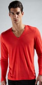 2XIST Long Sleeve V-Neck Shirt