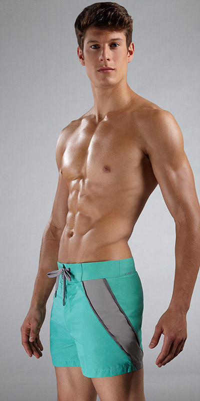 "C-IN2 Block 14"" Board Shorts"