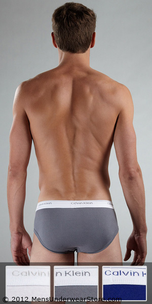 Calvin Klein 3-Pack Low Rise Brief