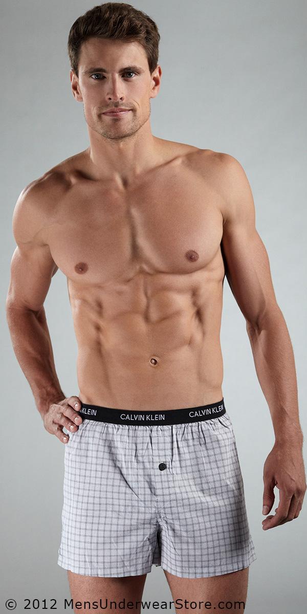 Calvin Klein Slim Fit Woven Boxer