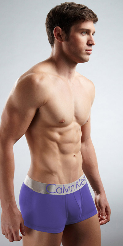 Calvin Klein Steel Microfiber Trunks
