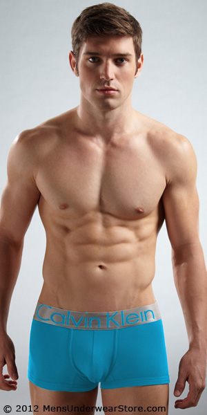 Calvin Klein Steel Microfiber Trunk