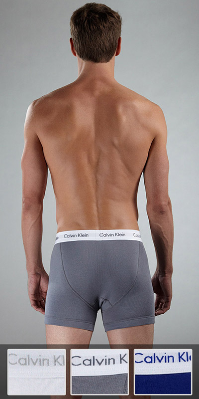 Calvin Klein Basic 3-Pack Boxer Brief