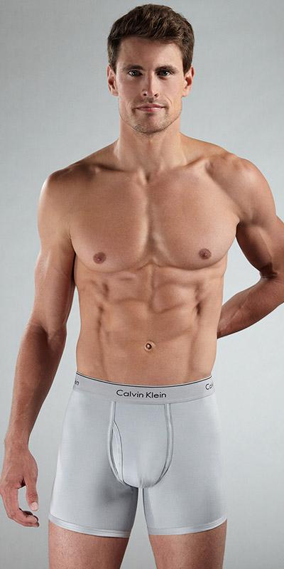 Calvin Klein Modern Classic Microfiber Boxer Briefs