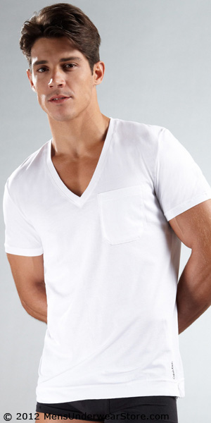 Calvin Klein Bold Sleepwear V-Neck Shirt