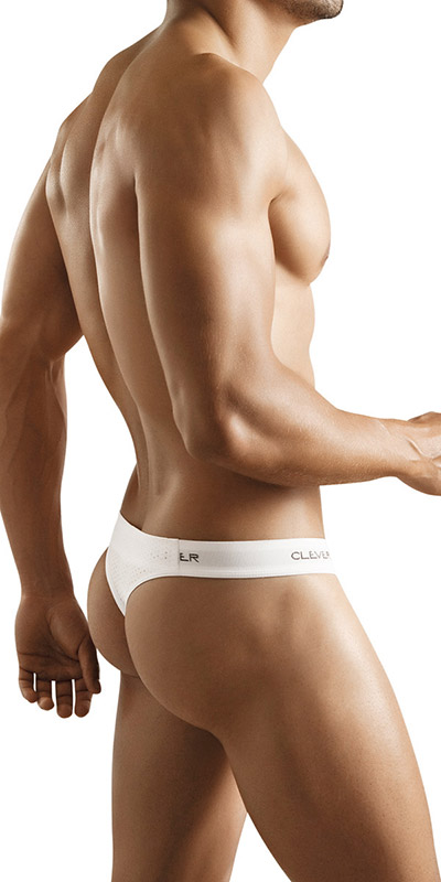 Clever Microfiber Mesh Thong