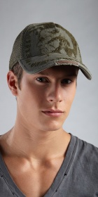 Diesel Chula Service Mesh Back Hat
