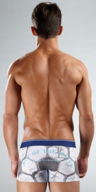 Diesel &quot;Man of the Match&quot; Boxer Trunk