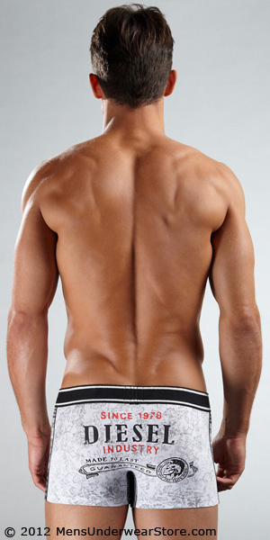 Diesel Stripes 'n Print Damien Boxer Trunk