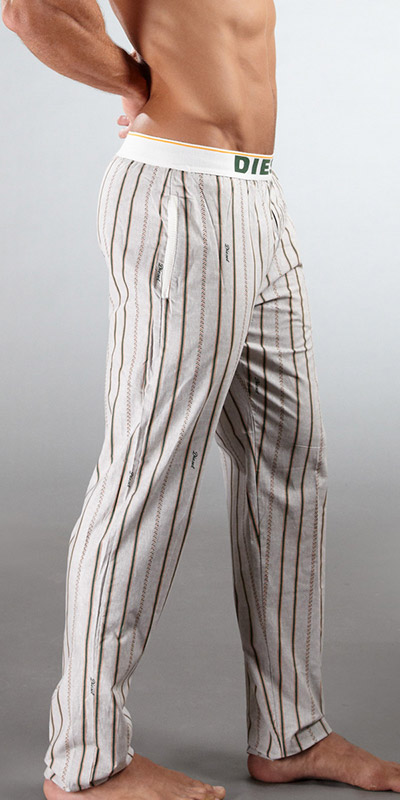 Diesel Baseball Striped Pants