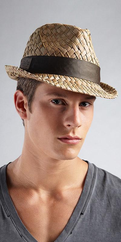 Diesel Clint Service Straw Hat